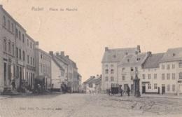Aubel Place Du Marché Circulée En 1907 - Aubel