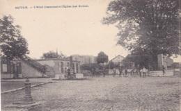 Battice L'Hôtel Communal Et L'Eglise - Herve