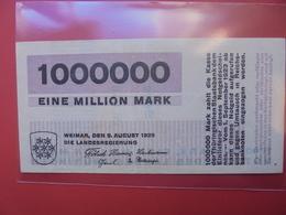 WEIMAR :1 MILLION MARK 1923 - Lokale Ausgaben