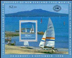 NEW ZEALAND, 1990 SCENES MINISHEET FOR NZ1990 MNH - New Zealand