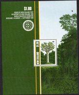 NEW ZEALAND, 1989 TREES MINISHEET FOR NZ1990 MNH - New Zealand