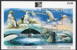 NEW ZEALAND, 1996 WILDLIFE MINISHEET FOR CHINA96 MNH - New Zealand