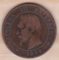 10 Centimes 1852 A Paris , Napoléon III - France