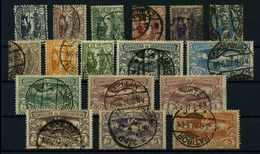 OBERSCHLESIEN 1920 Nr 13-29 Gestempelt (109600) - Deutschland