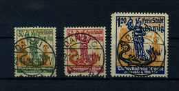 DANZIG 1921 Nr 90-92 Gestempelt (109645) - Dantzig