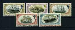 FALKLAND INSELN 1970 Nr 187-191 Postfrisch (104713) - Falkland Islands
