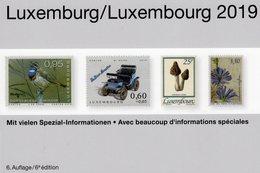 PRIFIX-MICHEL Briefmarke Luxemburg Katalog 2019 New 30€ Spezial ATM MH Dienst Porto Besetzungen Deutsch/französisch - Handel