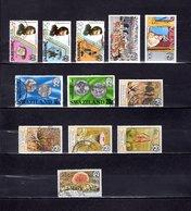 Swaziland   1976-80   .  Y&T  Nº    262/263-266-268/269-323/324-341-343/345-349 - Swaziland (1968-...)