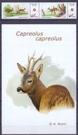 Belgie - 2018 - ** Duostamps - Capreollus Capreolus - Herten - A. Buzin ** Zegels + Afbeelding - Belgique