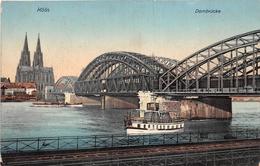 ¤¤  -   ALLEMAGNE   -   Köln   -  COLOGNE   -  Dombrücke   -  ¤¤ - Koeln