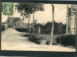 CPA - PAULX - Route De La Garnache - France