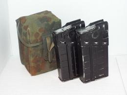 Heckler & Koch - BW-Bundeswehr-Magazintasche-mit-Magazine-Leer-G3 Gewehr HK H & K - Sammlerwaffen