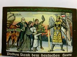Volkes Dank Dem Deutschen Heere. Hamburger Opfertag Weihnachtsgabe 1915 Für Unsere Im Felde Stehenden Truppen. - Militaria