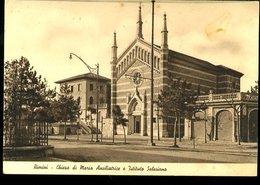 WD185 RIMINI - CHIESA DI MARIA AUSILIATRICE E ISTITUTO SALESIANO 1937 - Rimini