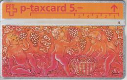 SWITZERLAND - PHONE CARD - °TAXCARD SUISSE  *** SIMONE ERNI & LES  BACCHANTES *** - Schweiz