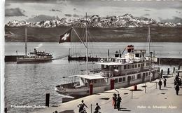 ¤¤  -   ALLEMAGNE   -  FRIEDRICHSHAFEN  -  Bodensee  -  Hafen M. Schweizer Alpen  - Lac De Constance  -  ¤¤ - Friedrichshafen