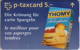 SWITZERLAND - PHONE CARD - °TAXCARD SUISSE - FF  ***  THOMY / 4 *** - Schweiz