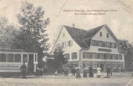CPA SUISSE GASTHOF HIRSCHEN SCHWAMENDINGEN ZURICH (cpa Rare - ZH Zurich