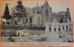 CARTE REMBERCOURT AUX POTS - 55 - GUERRE MILITARIA - TIMBRE ET CACHET JOURNEE DE LA MEUSE 1917 - 2 SCANS-10 - France