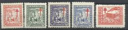 ESPAÑA EDIFIL  984/88  MNH  ** - 1931-50 Nuevos & Fijasellos