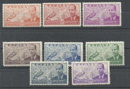 ESPAÑA EDIFIL  940/47  MNH  ** - 1931-50 Nuevos & Fijasellos