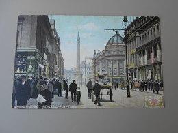 ANGLETERRE NORTHUMBERLAND NEWCASTLE UPON TYNE GRAINGER STREET - Newcastle-upon-Tyne