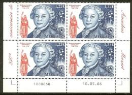 MONACO N°2548** Bloc Coin Daté De 4 Valeurs (10/05/2006) - COTE 15.60 € - Nuovi