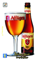 Carte Postale, Boissons, Bière, La Bière En Belgique, Opwijk, Brouwerij Affligem, Affligem Blond - Comercio