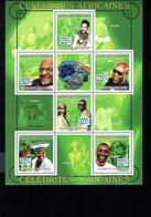 697740736 COMORES POSTFRIS MINT NEVER HINGED POSTFRISCH EINWANDFREI  YVERT BF 174 CELEBRITES AFRICAINES - Comores (1975-...)
