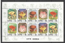 C272 1991 KOREA NATURE MUSHROOMS 1KB MNH - Mushrooms