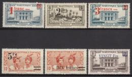 Du N° 220 Au N° 225 - X - ( C 1075 ) - Martinica (1886-1947)