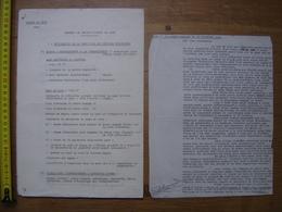1938 Lyon MEMENTO RECONNAISSANCE DE GARE Besoin Militaire CHEMIN DE FER TRAIN Militaria - Planches & Plans Techniques