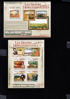 697746511 COMORES POSTFRIS MINT NEVER HINGED POSTFRISCH EINWANDFREI  YVERT BF 225 1783-1786 LES GRANDS IMPRESSIONNISTES - Comores (1975-...)