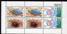 NEW ZEALAND, 1979 HEALTH MINISHEET MNH - New Zealand