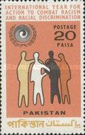 USED STAMPS Pakistan - International Racial Equality Year  -1971 - Pakistan