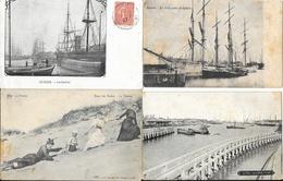 Lot N° 78 De 100 CPA De Belgique - Villes, Villages, Plages, Petites Animations - 100 - 499 Cartes