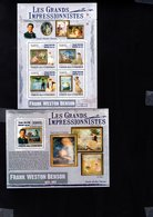 697750960 COMORES POSTFRIS MINT NEVER HINGED POSTFRISCH EINWANDFREI  YVERT BF 221 1767 1770 LES GRANDS IMPRESSIONISTES - Comores (1975-...)