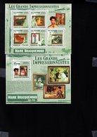 697752550 COMORES POSTFRIS MINT NEVER HINGED POSTFRISCH EINWANDFREI  YVERT BF 231 1811 1815 LES GRANDS IMPRESSIONISTES - Comores (1975-...)