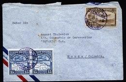 A5779) Venezuela Brief Maracaibo 02.03.39 N. Honda / Columbia - Venezuela
