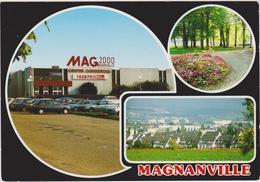 CPSM    MAGNANVILLE 78  Vue Générale.Centre Commercial.Le Parc - Magnanville