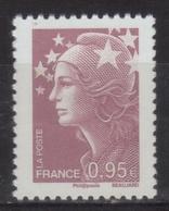 4475 - Marianne Beaujard 0.95 TD 215 (2010) Neuf** - Unused Stamps