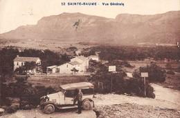 CPA 83 SAINTE BAUME VUE GENERALE (voiture Ancienne - Other Municipalities