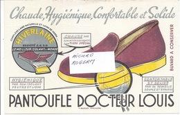 Buvard - PANTOUFLE Du DOCTEUR LOUIS -  310119 - Buvards, Protège-cahiers Illustrés