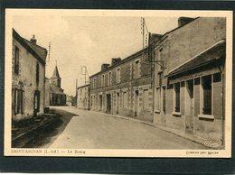 CPA - SAINT AIGNAN (L.-Inf.) - La Rue Principale - France