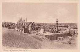 EGYPTE - LE CAIRE CAIRO -  VUE GENERALE MOSQUEE PALAIS - Le Caire