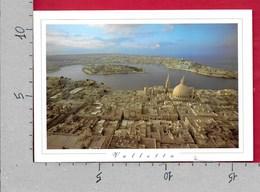 CARTOLINA VG MALTA - Aerial View Of VALLETTA MANOEL ISLAND And SLIEMA - 11 X 16 - ANN. 1999 - Malta