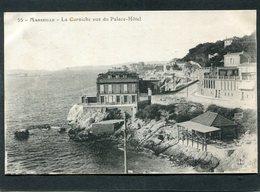 CPA - MARSEILLE - La Corniche Vue Du Palace Hôtel - Endoume, Roucas, Corniche, Beaches