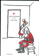WD234 CROCE ROSSA ITALIANA , GRUPPO DONATORI , ILLUSTRATA DA ISIDORI - Cruz Roja