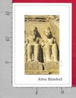 CARTOLINA VG EGITTO - ASWAN - Abu Simbel - 12 X 17 - ANN. 20?? - Aswan
