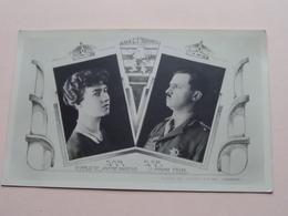 CHARLOTTE & FEL Fam. Royale / Koninklijke Familie - Royals ( Luxembourg / Luxemburg ) Anno 19?? ( Zie/voir/see Photo ) ! - Royal Families